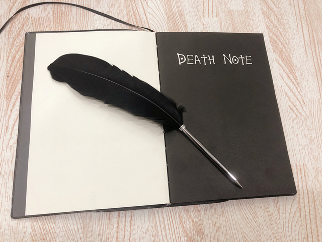 Death Note Planner Anime Diary Ryuk Cosplay Writing Journal Notebook