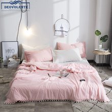 1pc Comfortble Solid Color Summer Quilt With Small Ball 150*200/180*210/200*230 Polyester Fiber Stylish Modern Warm Soft