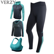 Yoga Set Women 4 Pcs Gym Push Up For Yoga Clothes Shirts Bra Leggings Exercise Quick Dry Breathable Sportswear Solid Fitness