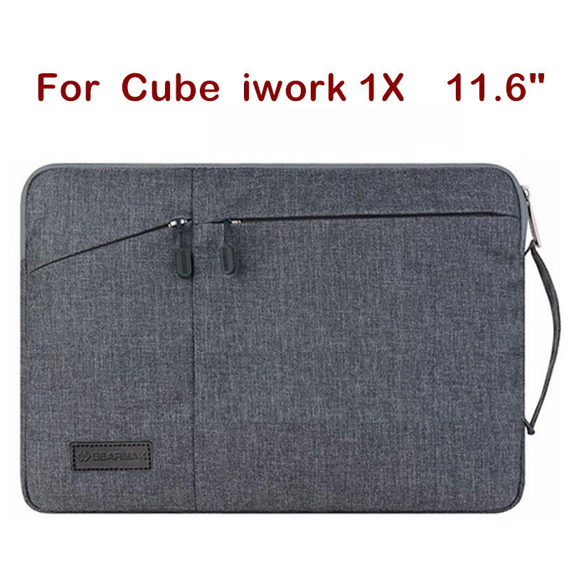Fashion Laptop Sleeve Pouch For Cube iwork1X 11.6 Inch Creative Design Hand Holder Tablet PC Case Waterproof Bag Pen As Gift