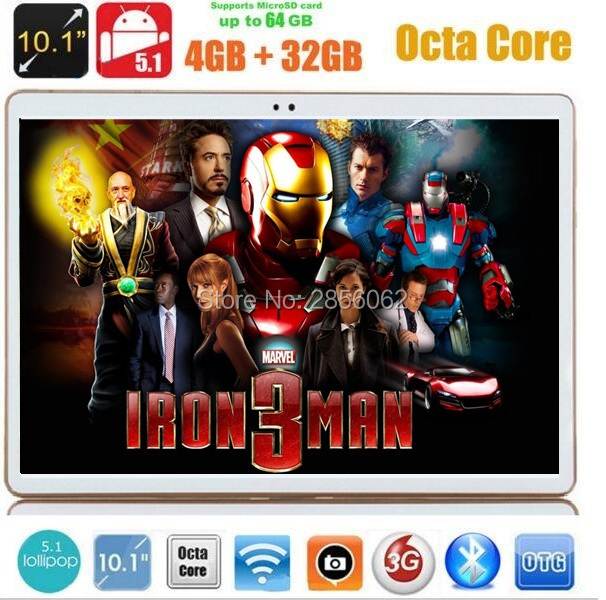 10 inch 4G tablet Octa Core 4GB RAM 32GB ROM 8 Cores andriod 5.1 5MP 1280*800 IPS Kids Gift MID 3G WCDMA Tablets 10.1