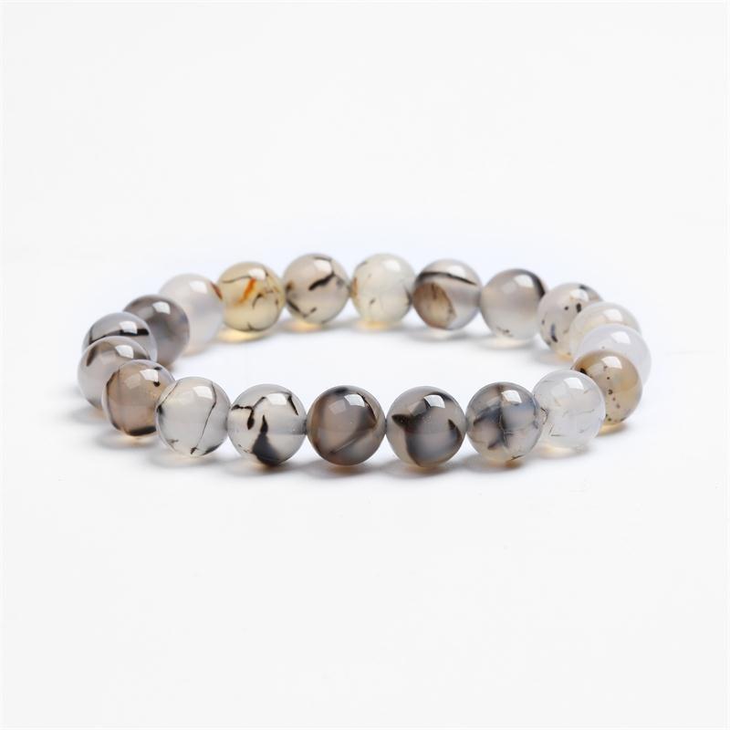 Meajoe трендовый натуральный камень любовь фиолетовый браслет из бисера Винтаж Шарм круглая цепь бисер браслеты ювелирные изделия для женщин друг подарок - Окраска металла: model 3