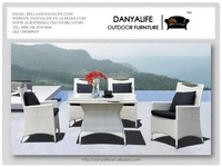 dyds-d542f danyalife высокое качество вилла мебель ЧП из ротанга сад столовая установить