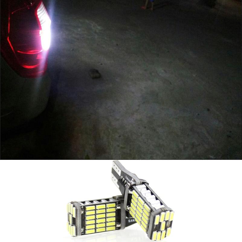 2 Stks T10 W5W T15 W16W 4014 45SMD Canbus FOUT GRATIS - Autolichten - Foto 1