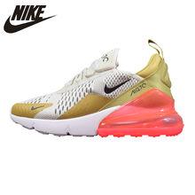 new concept 949f0 00577 Sepatu Nike AIR MAX 270 Wanita Sepatu Lari Putih   Kuning shock Menyerap  Tahan Aus Bernapas