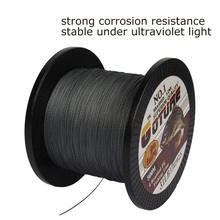 Goture Brand Braided Fishing Line 500M/547Yards Multifilament PE 4 Strands Fishing Cord 12LB-80LB Strong Japan Technology