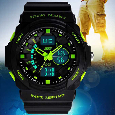 2017 Skmei Watches Men Luxury Brand MenSports Watch Military Fashion Casual Dress Wristwatches Women Digital LED quartz watches зонты