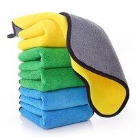 Чистящая ткань, предметы первой необходимости, полотенце, гигиенические чистящие средства, коралловый флис, толстый абсорбирующий, автомой...