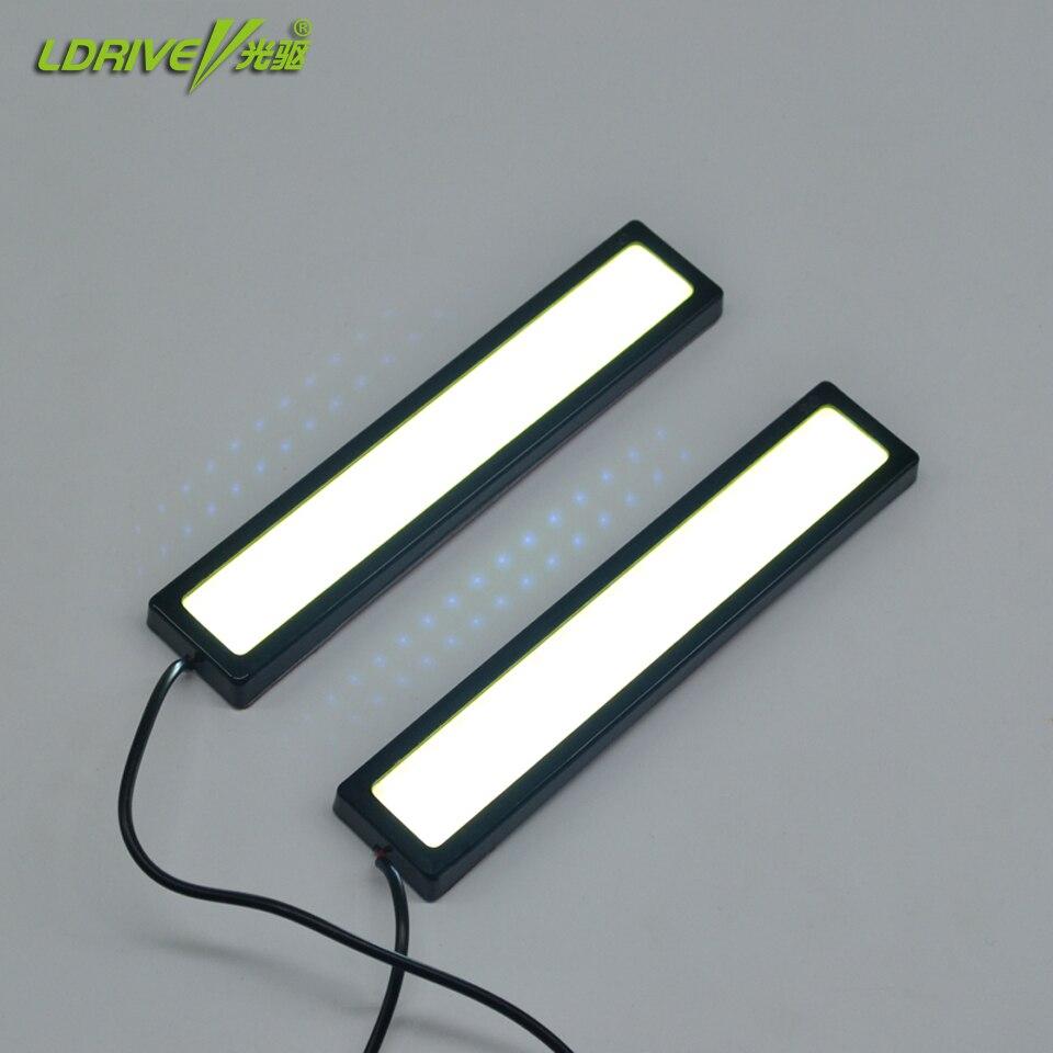 Vista Hot Sale Flexible Led DRL Daytime Running Light High Bright COB Led Running Light
