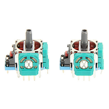 PS4 3D Analog Joystick Sensor Module Potentiometer with Thumb Sticks for Sony Playstation 4 PS4 Controller Accessories 20 Sets in Replacement Parts Accessories from Consumer Electronics