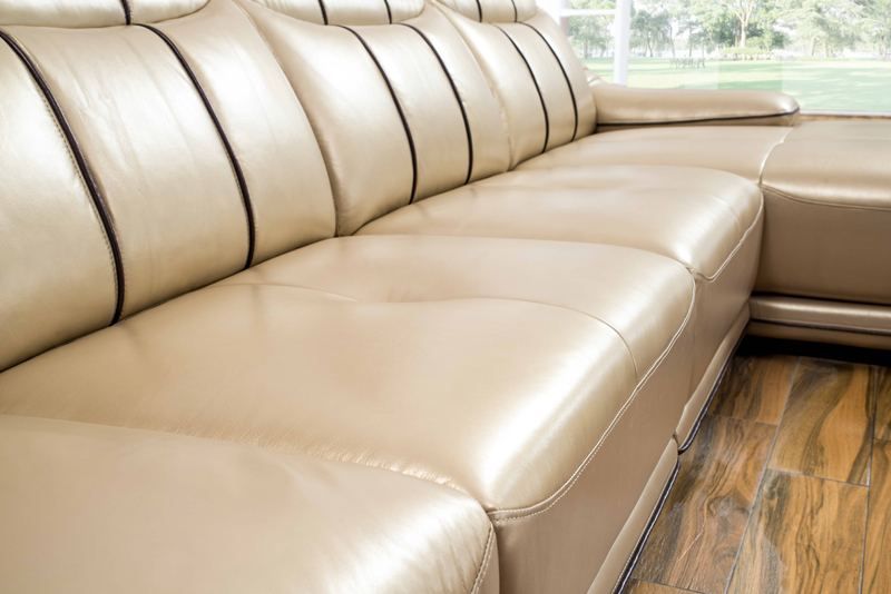 Home Design Living Room Sofa Set, Made With Top Grain Real Leather SOFA, L  Shaped Yellow Color Smart Sofa Set 2017 Corner Sofa In Living Room Sofas  From ...