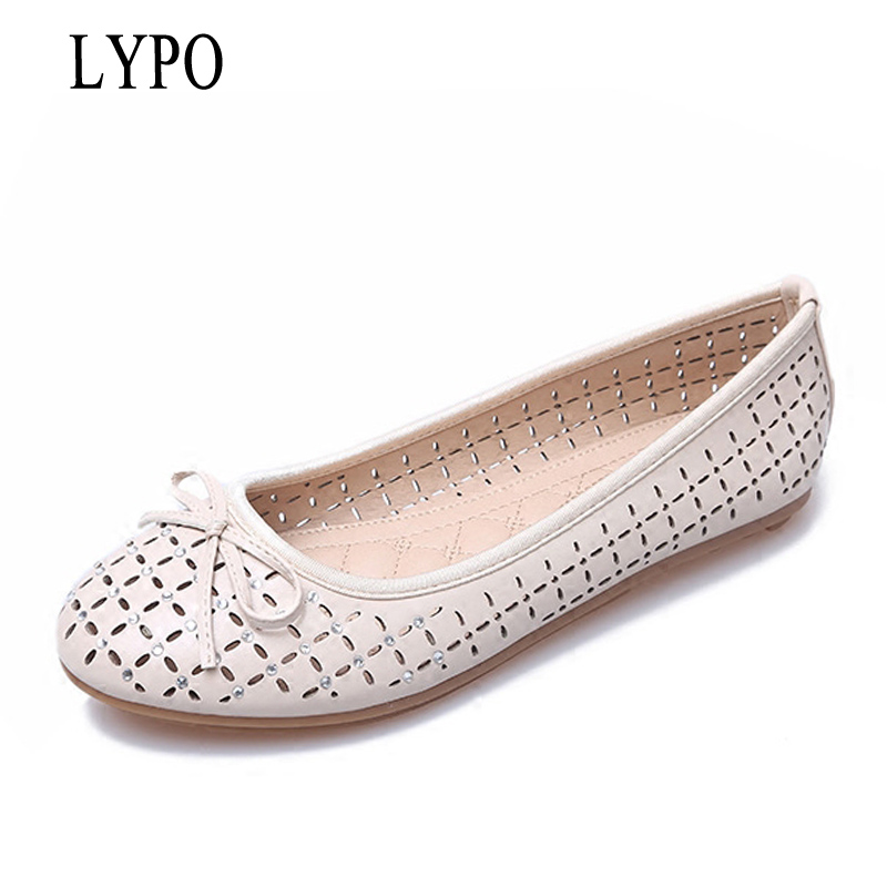 LYPO New women casual flat shoes woman Squard toe Ballet Flats loafers peas fashion bowtie slip on boats soft lazy shoes enmayla most popular portable ladies loafers casual shoes woman ballet flats shoes women slip on flats shoes big size 34 43