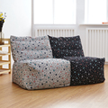 Modern linen bean bag  sofa living room chair leisure furniture  made in China by DHL