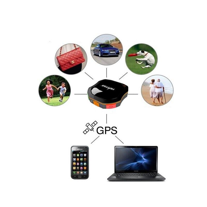 Умный мини собачий gps трекер ошейник gps LBS отслеживание IP67 Водонепроницаемый SMS позиционирование гео забор трековое устройство домашнее жив... - 2