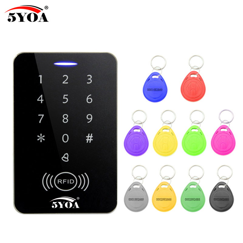 цена на New RFID Access Control System Security Proximity Entry Door Lock strong anti-jamming Induction distance Support the iron door