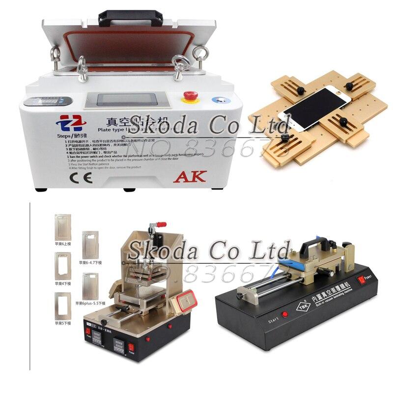 Pantalla LCD kit de reparación oca máquina de laminación + 5 IN1 ...