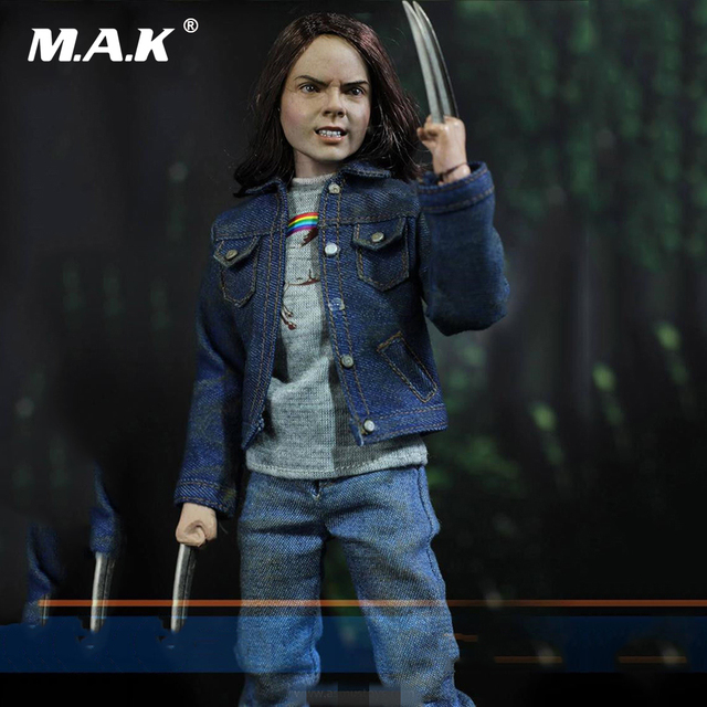 1/6 Scale Wolverine Laura Full Set Action Figure Model Toy Head & Body & Clothing & Base Set for Collection