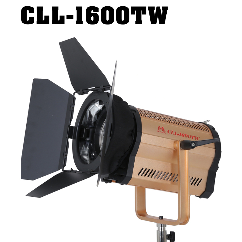 Falcon Eyes CLL-1600TW 160W Led Fresnel Light 3000K-8000K Studio Light Photography lighting for film interviewing shooting аксессуар falcon eyes dea bhc 160 180mm