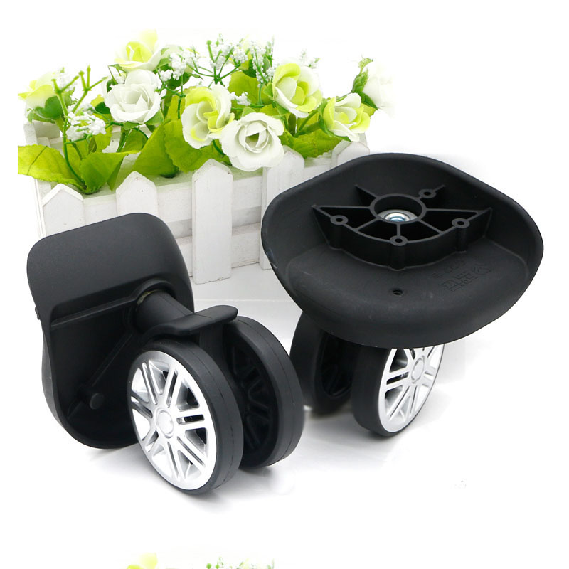 Replacement Luggage Wheels Repair Trolley Travel Suitcase Accessories Travel Luggage Wheels for Suitcases NEW W074 replacement wheels for luggage repair trolley luggage side wheels suitcase wheels repair wheels for suitcases w047