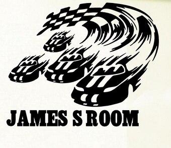 Online Get Cheap Vinyl Racing Flag Car Stickers Aliexpress Com