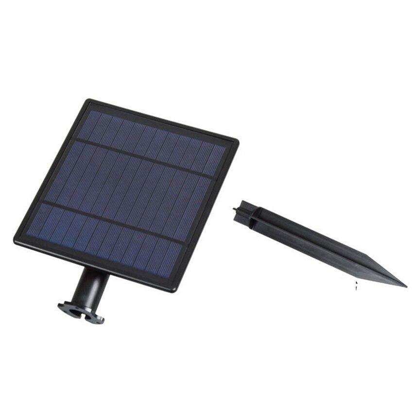 Étanche IP65 Extérieure Jardin LED Solaire Lumière Super Luminosité Jardin Pelouse Lampe Paysage Spots Solaire Panneau 4000 k, 6000 k