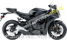 Лидер продаж, для Honda CBR1000RR 08 09 10 11 CBR 1000 RR 1000RR CBR1000 черный 2008 2009 2010 2011 обтекателя Kit (литья под давлением)