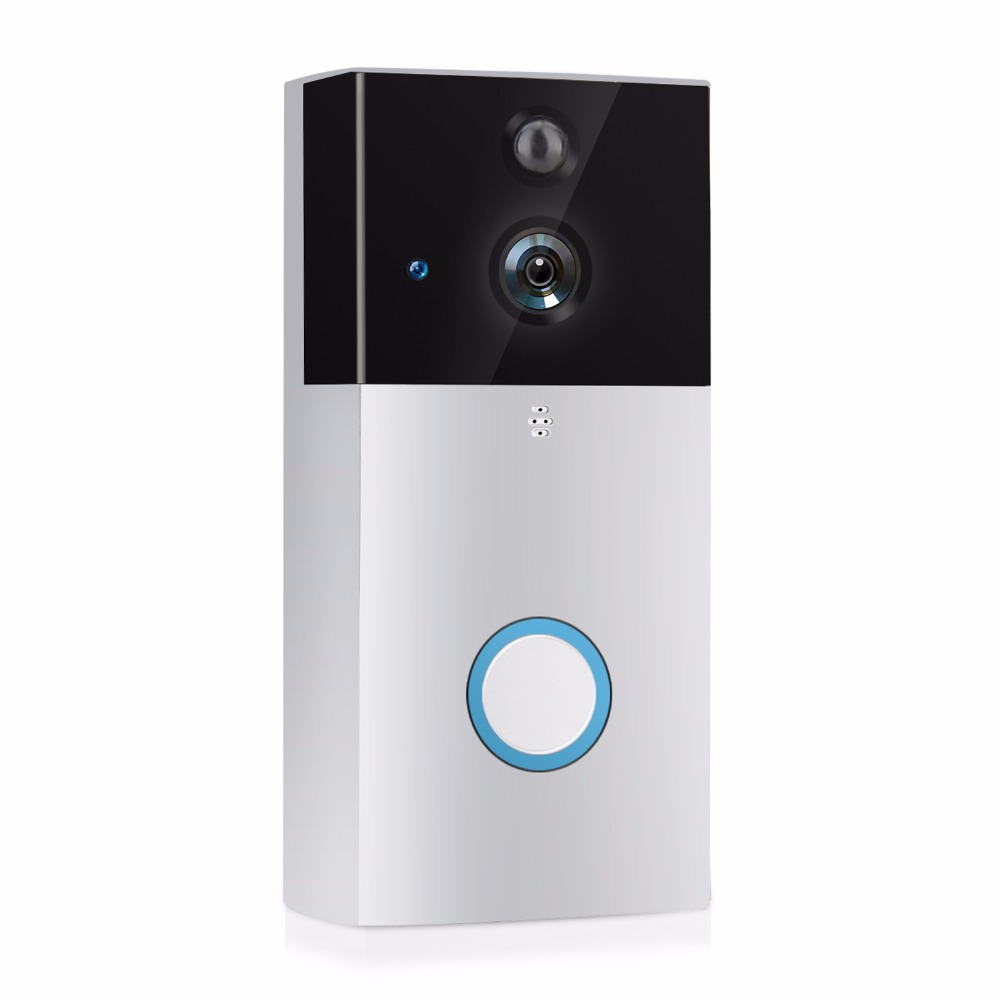 VRFEL Wireless doorbell bell doorbell camera WiFi IP 720P waterproof infrared night vision two-way audio mini camera