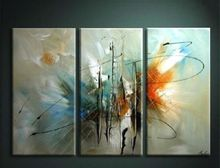 OIL PAINTING MODERN ABSTRACT WALL DECOR ART CANVAS,Creative 3PC- Unframed