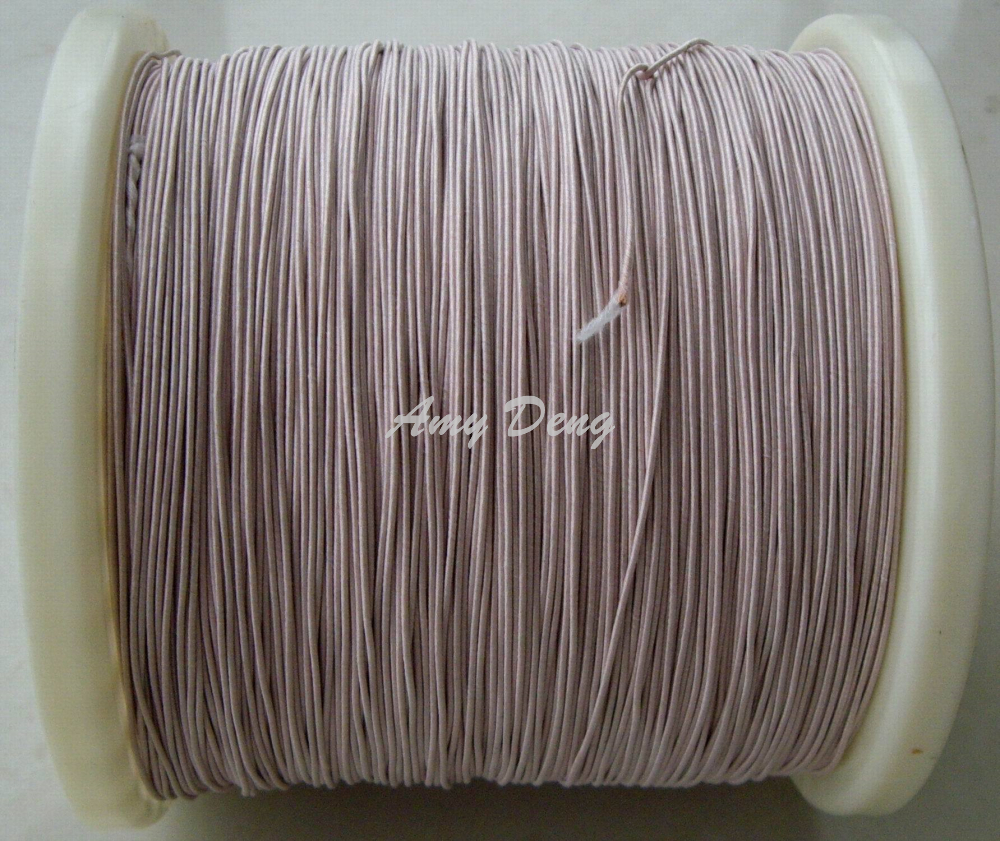 100meters/lot  0.07x80 Shares Its Antenna Litz Strands Of Copper One Meter Sale Of Cotton Polyester Envelope