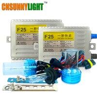CNSUNNYLIGHT ערכת קסנון HID AC 55 W 24 V למשאית טריילר אור H7 H11 H1 H3 H8 H9 H10 9005 9006 6000 K 8000 K קסנון HID אור