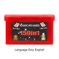 Игра картридж Консоли Карты 32 бит игровых сборники Collection 150 в 1 Английская литература версия