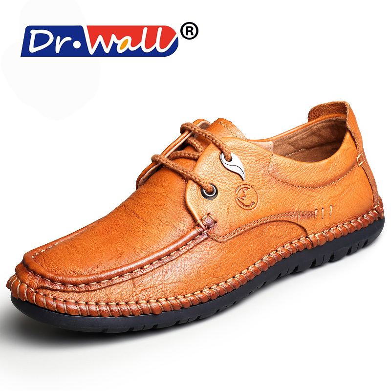 Tenis Masculino Adulto Offer 2017 New Spring/summer Fashion British Pu Leather Casual Low Lace Up Men Flat Shoes Loafers Boat