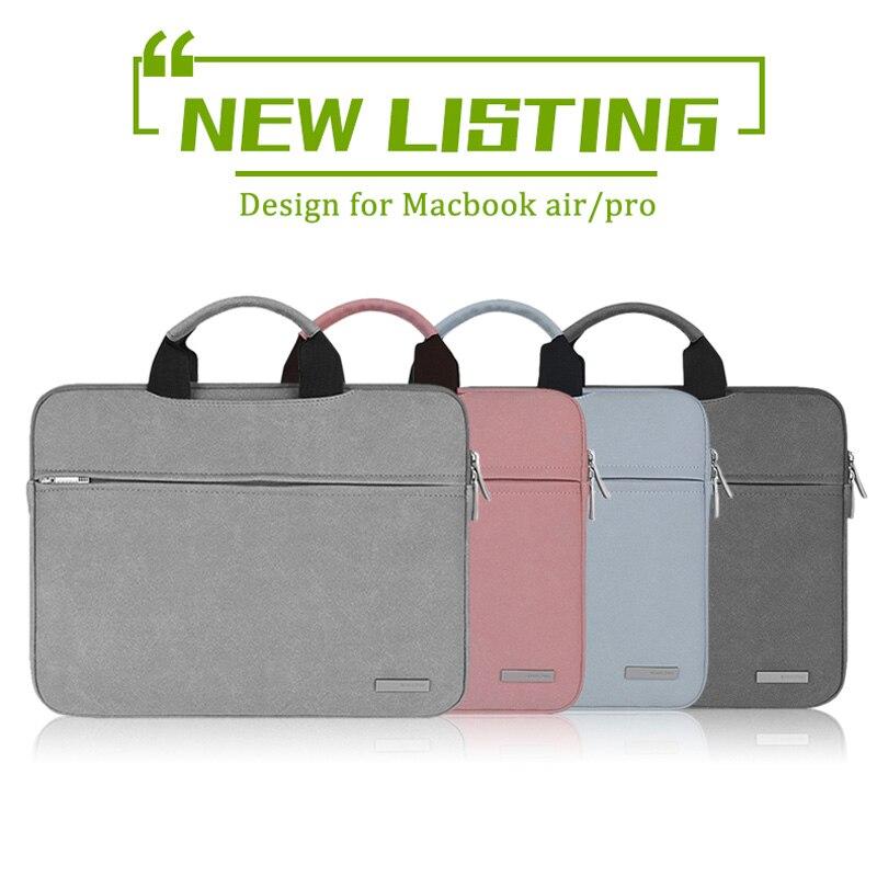 2017 New Laptop Bag for surface pro 4/3 Matte Handbag for Women men 11 inch Tablet bag 12 inch Notebook bag Laptop bag case