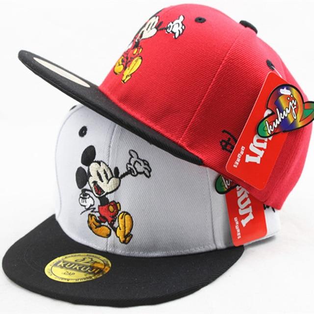 Fashion Cartoon Mouse Kids Hat Boys And Girls Healthy Comfortable Cute Baseball Caps Adumbral Ventilate Adjustable Baseball Hat 2