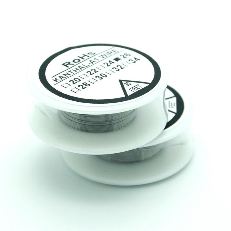 Kanthala1 wire 26 Gauge 30 FT (0.4mm) Cantal Resistance Resistor AWG ...