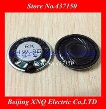 10 pièces magnétiques intérieurs en acier fin de qualité RK, 1W, 8 ohm, 8 ohm, 20mm X 4mm
