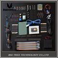 NodeMcu Lua WIFI ESP8266 Starter Kits de Tablero/del sensor de Temperatura DS18B20/cables de puente/LED/Micro Servo
