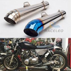 36 51mm uniwersalny tłumik rury wydechowej do motocykla dla MP wydechowy motocykl dla GP rura wydechowa Slip On z800 cbr300r Z1000 GSXR1000 w Rury i układy wydechowe od Samochody i motocykle na