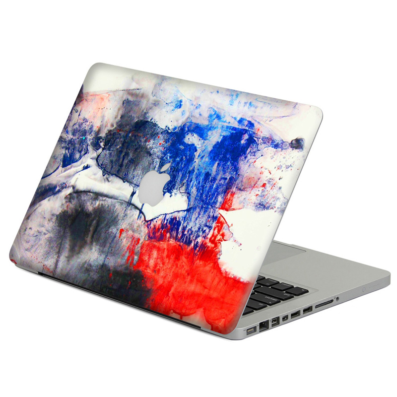 Spray Painting Laptop Decal Sticker Skin For MacBook Air Pro Retina 11 13 15 Vinyl Mac Case Body Full Cover Skin