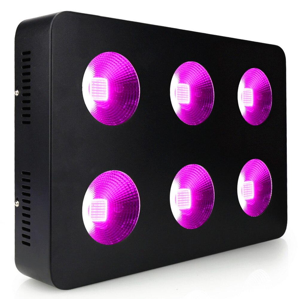 1500 Вт 500 Вт полный спектр светодиодный свет для выращивания COB лампа для внутреннего гидропоника, шатер для выращивания растений овощей фрук