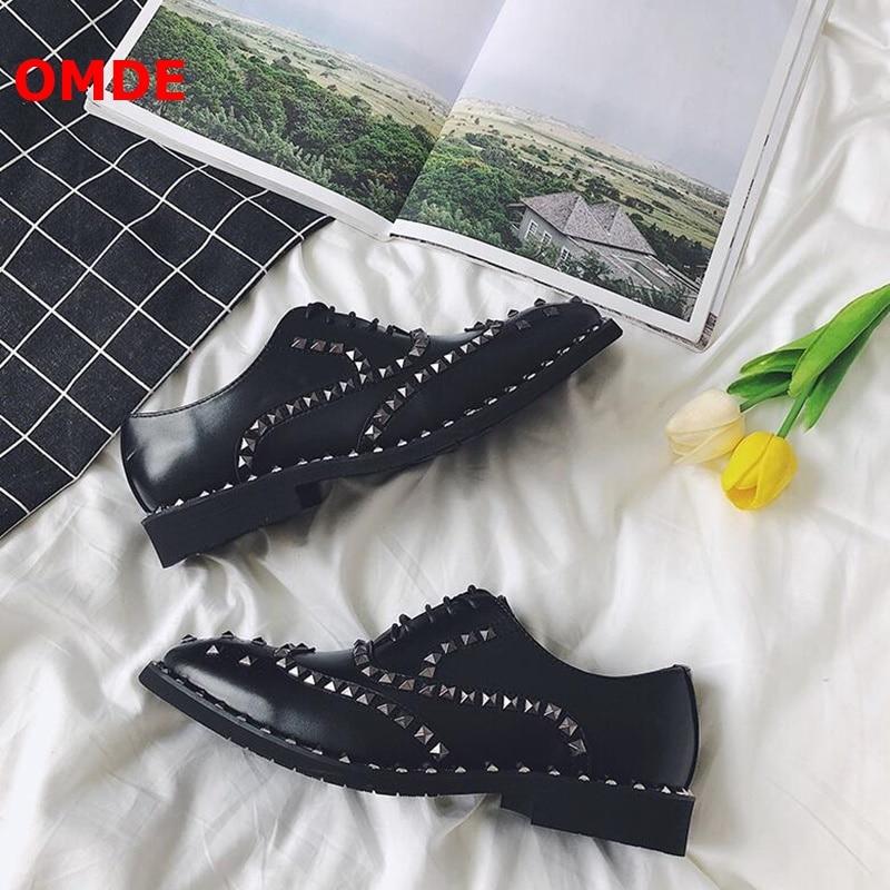 Für Lace Leder Korea Männer Schuhe Brogue Oxford Picture Schwarz up Omde Stil Hochzeit As Mode Carving Nieten Kleid YBOgw