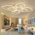 Современные Люстры Led для гостиной  спальни  столовой  акриловая потолочная лампа  люстра для дома  внутреннее освещение  AC 90-260V