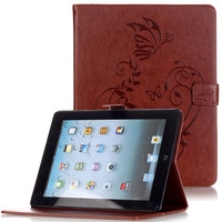 WeFor Cover Silicon Leather Case For Apple IPad 2 3 4 Flip Book Style Stand With