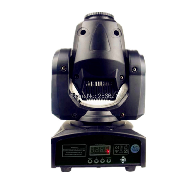 Upgraded version 30W mini LED spot moving head light High brightness 30W DMX512 dj 8 gobos LED effect stage lights/ktv bar disco 4pcs lot 30w led gobo moving head light led spot light ktv disco dj lighting dmx512 stage effect lights 30w led patterns lamp