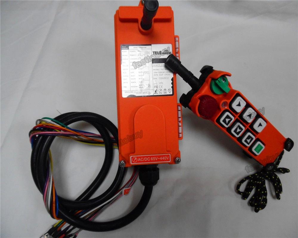 F21-E2 Radio industrial remote control for crane 6 button 1Transmitter+1Receiver