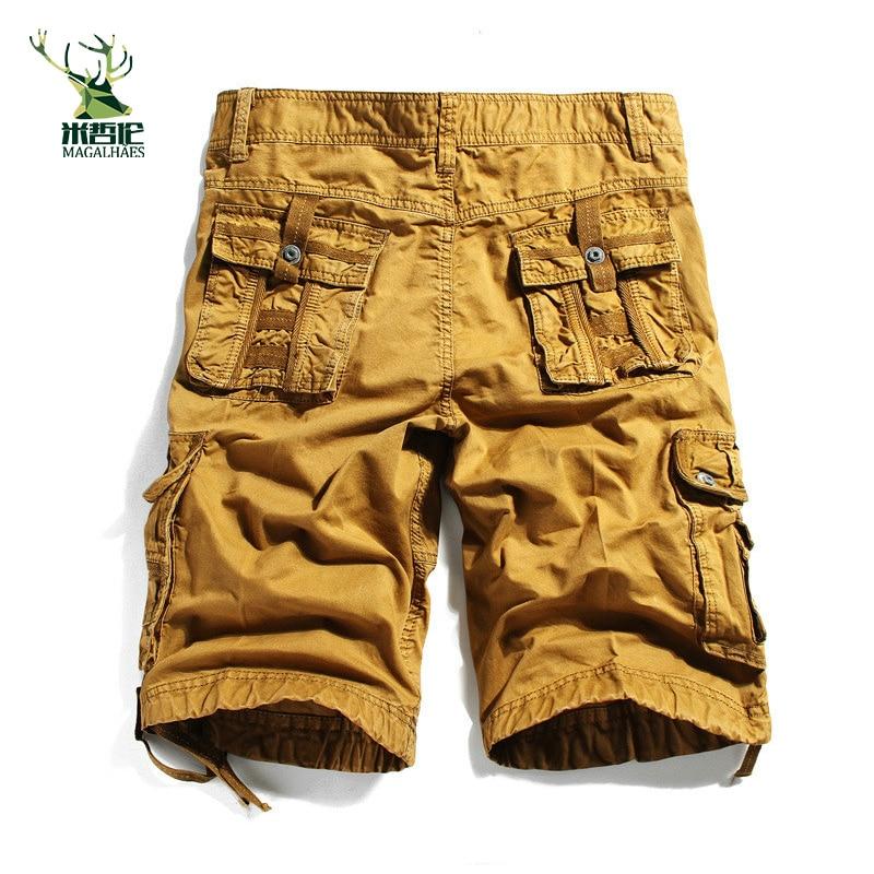 2016 Plus Size 30-40 Men Short Shorts Mens Shorts Army Green,Black,Blue Color 3610 Mens Military Cargo Shorts