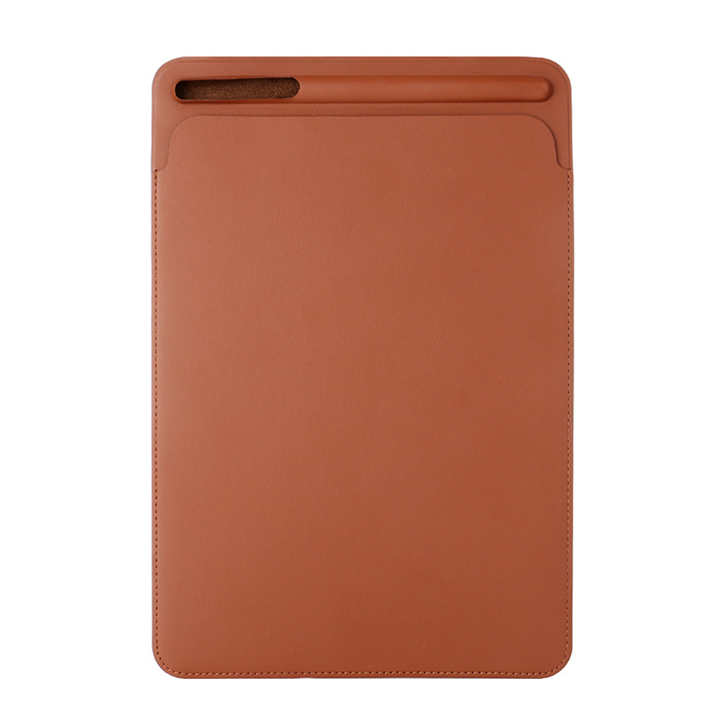Wear Resistant Anti-slip PU Leather Simple With Pencil Slot Tablet Cover Solid Protective Case Accessories For IPad Pro 12.9inch