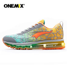 Onemix New men's Running Shoes Breathable Outdoor Athletic Walking Sneakers hommes sport chaussures de course plus size 35-47(China)