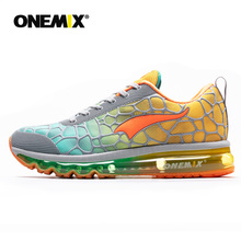 Onemix New men's Running Shoes Breathable Outdoor Athletic Walking Sneakers hommes sport chaussures de course plus size 35-47