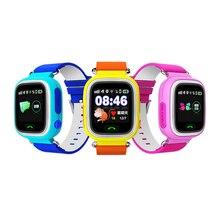GPS Tracker Inteligente Relojes Para Niños SOS/Anti-perdida/Marcación de Llamadas/Respuesta de Llamada Inteligente En La Muñeca reloj Compatible Con Smartphone